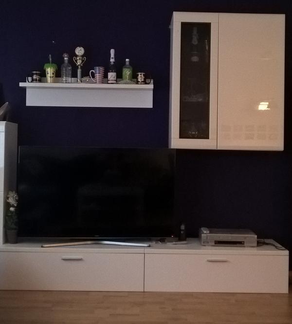 Wohnwand regal gebraucht kaufen nur 2 st bis 75 g nstiger - Wohnwand mit bucherregal ...
