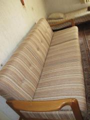 Wohnzimmer Sitzgarnitur Mit Sofa 2 Sessel Und Fliessentisch In