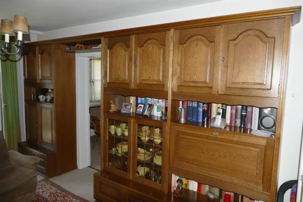 Wohnzimmerschrank Eiche Rustikal Gnstig Gebraucht Kaufen Verkaufen
