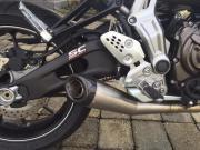 Yamaha MT07, Traum