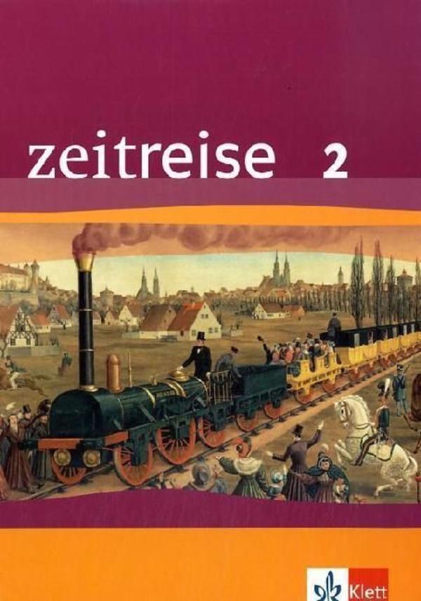 Zeitreise 2 Schülerbuch 9783124250209 - Hochstadt - sehr guter Zustand, kaum gebrauchtVersand möglichNP: ca. 24 EUR - Hochstadt