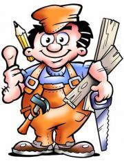 Zuverlässiger sauberarbeitender Handwerker